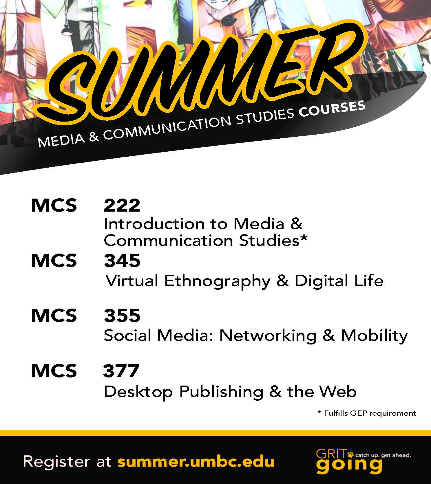 MCS Summer 2018 Courses
