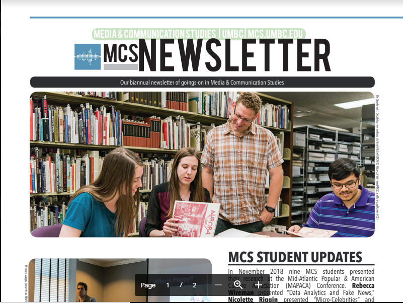 Click here for the MCS Newsletter!