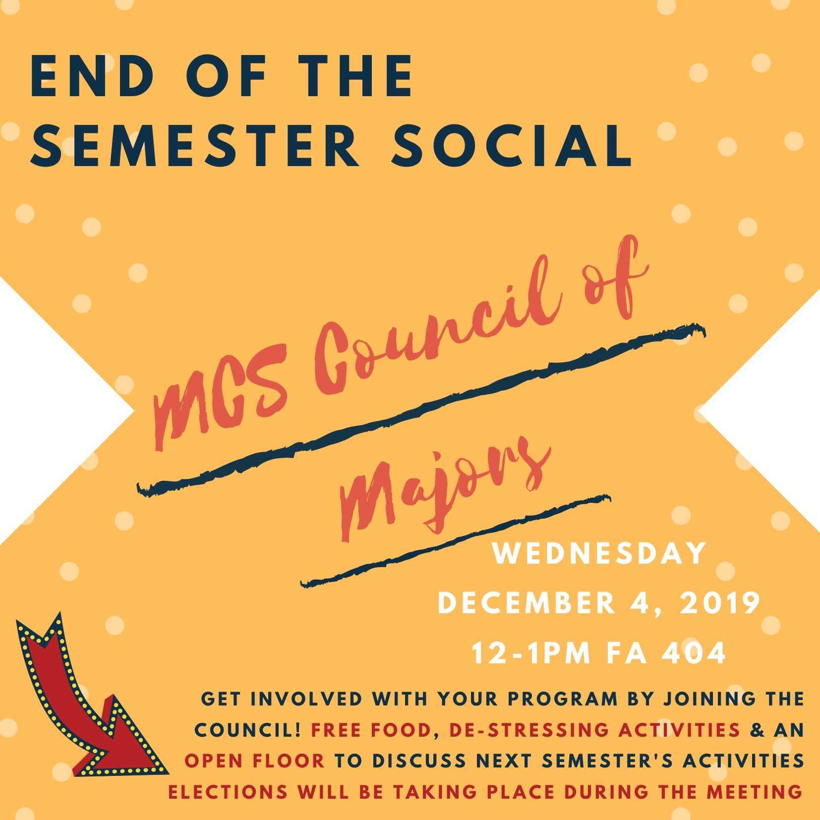 End of the semester social!