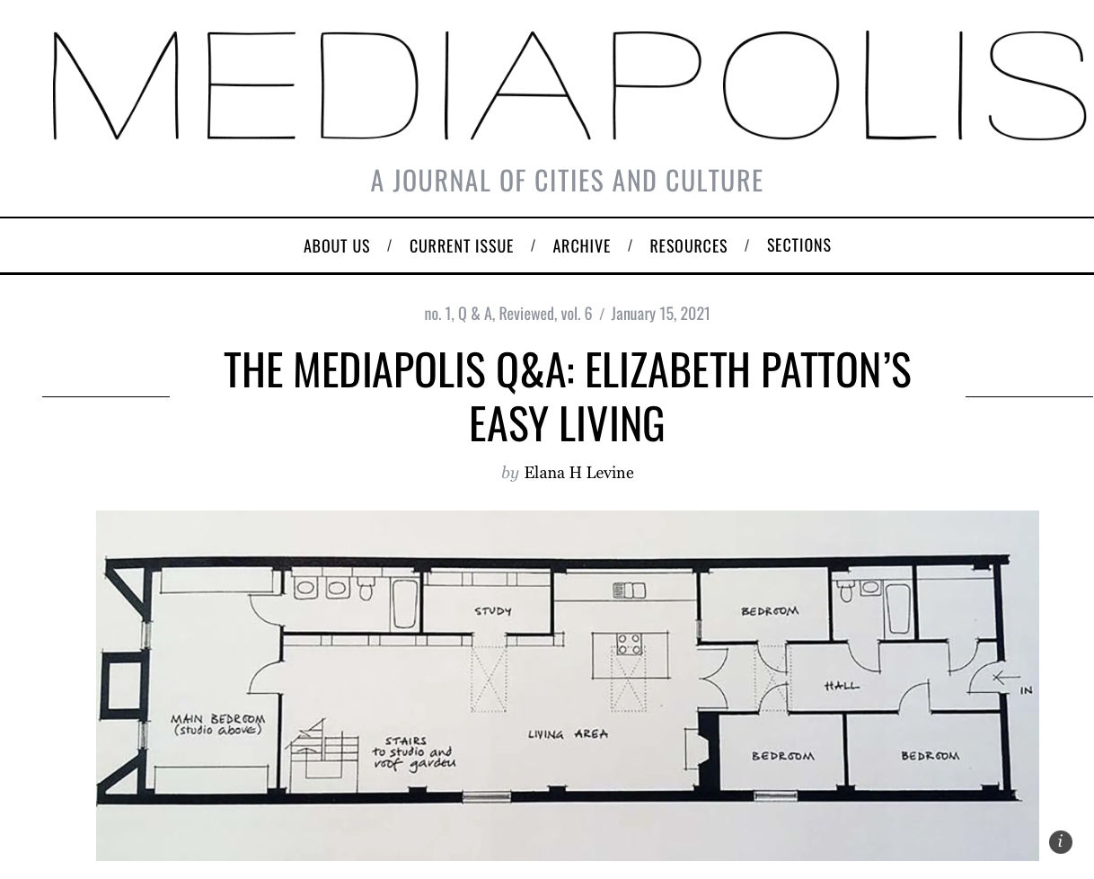 Check out Professor Patton's interview on Mediapolis!